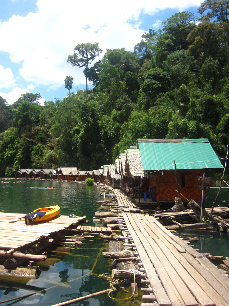 Khao Sok Boathouse