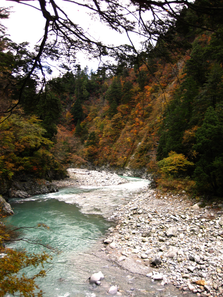 Kurobe valley is a MUST.