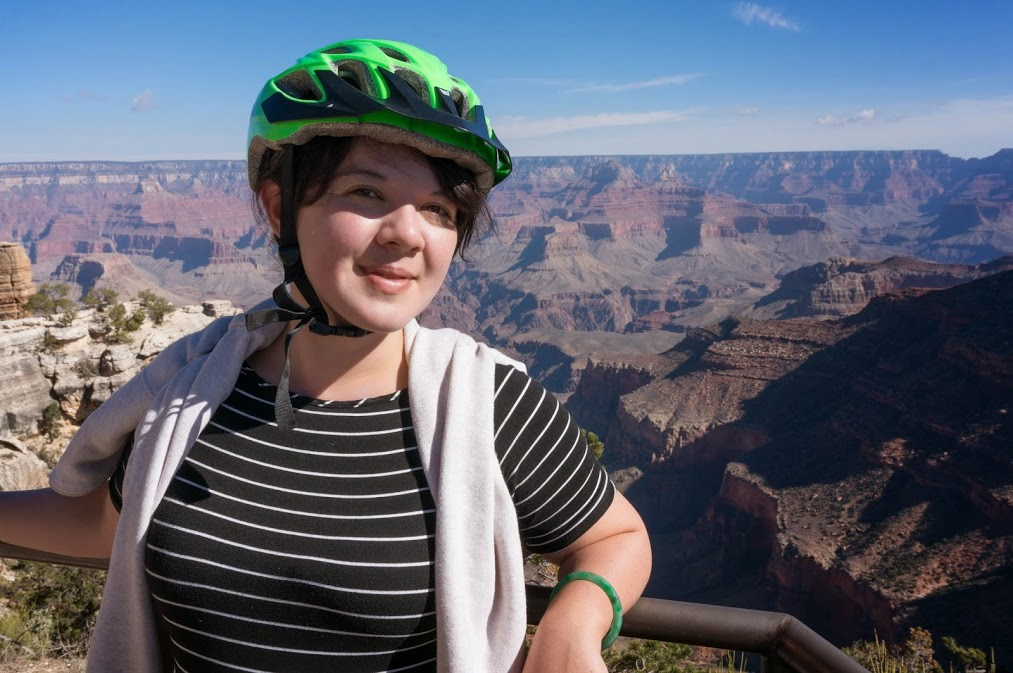 Biking the rim of the grand canyon?  Accomplished.