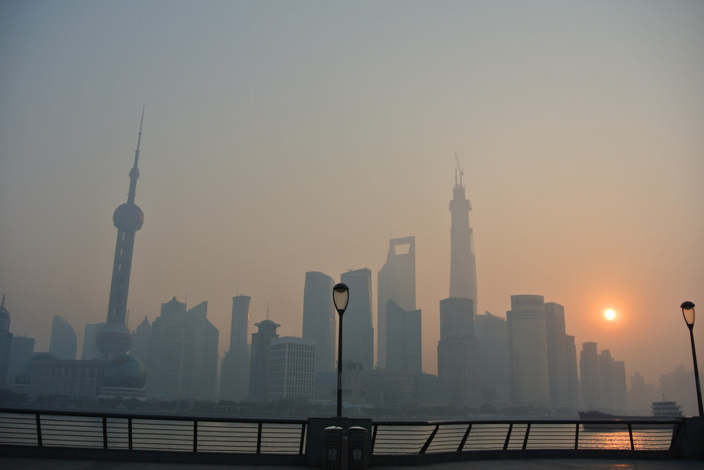 Sunrise at the bund