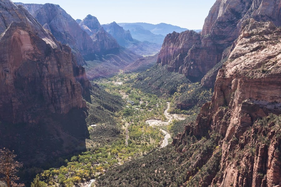 Zion Angels Landing View