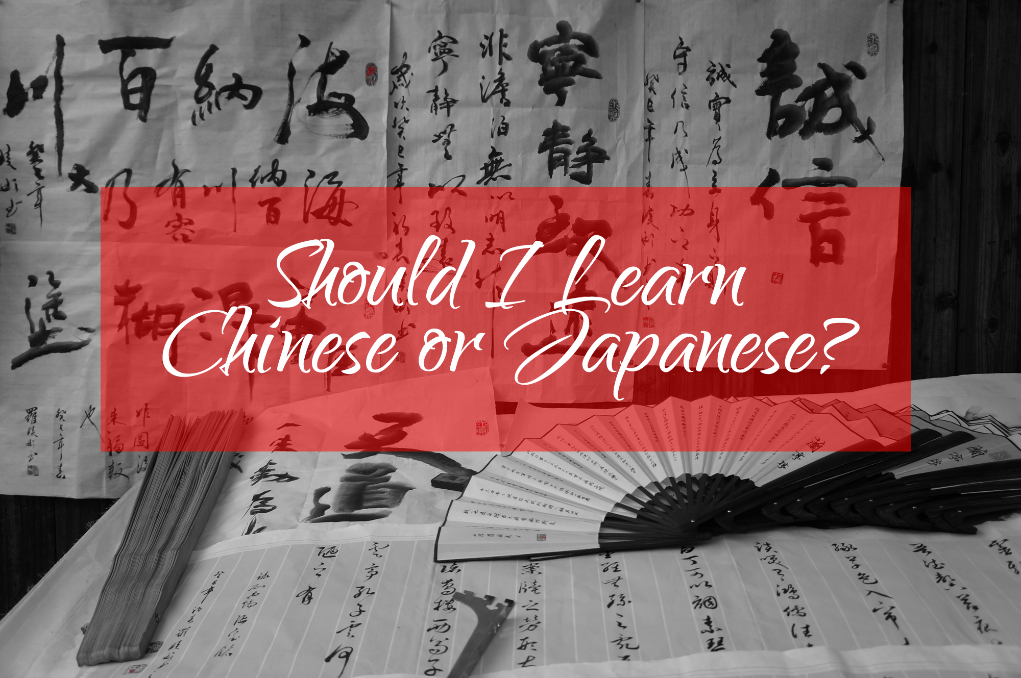 Should i learn chinese or japanese