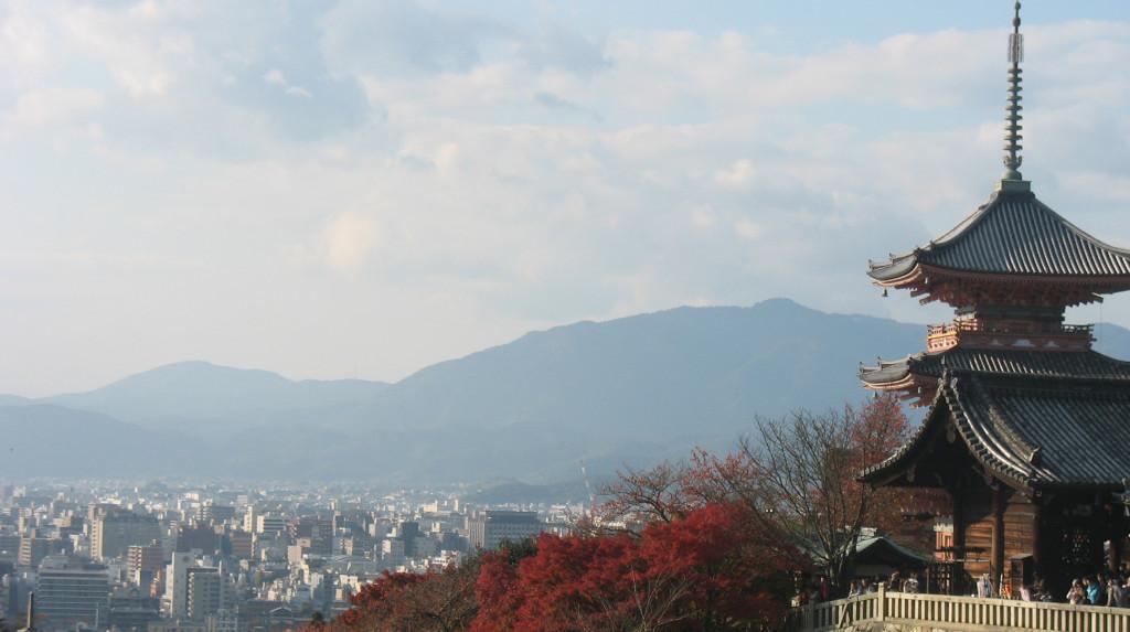 View from Kiyomizu Temple