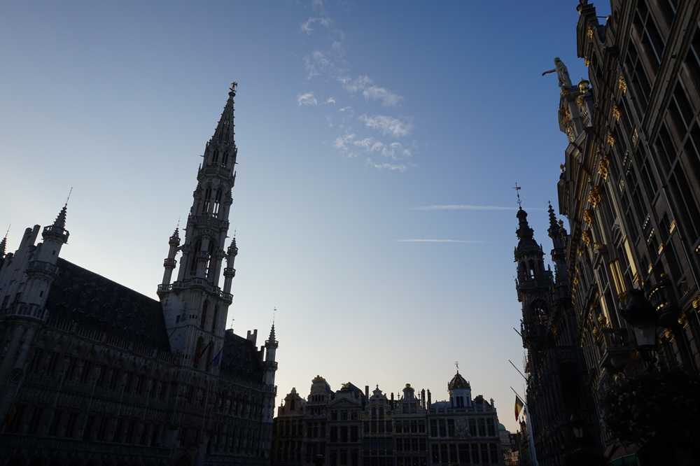 Brussels Grand Place at Dusk