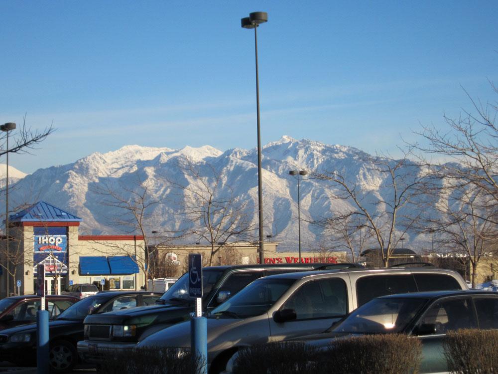 Utah, my home!