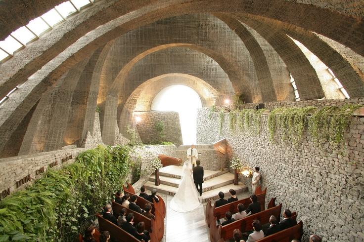 Nagano - Stone Wall Church