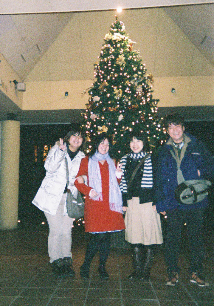 Celebrating Christmas in Karuizawa