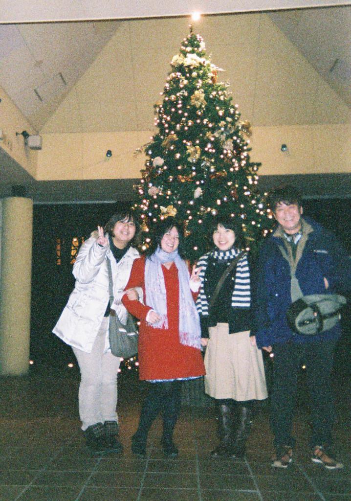 Celebrating Christmas in Karuizawa