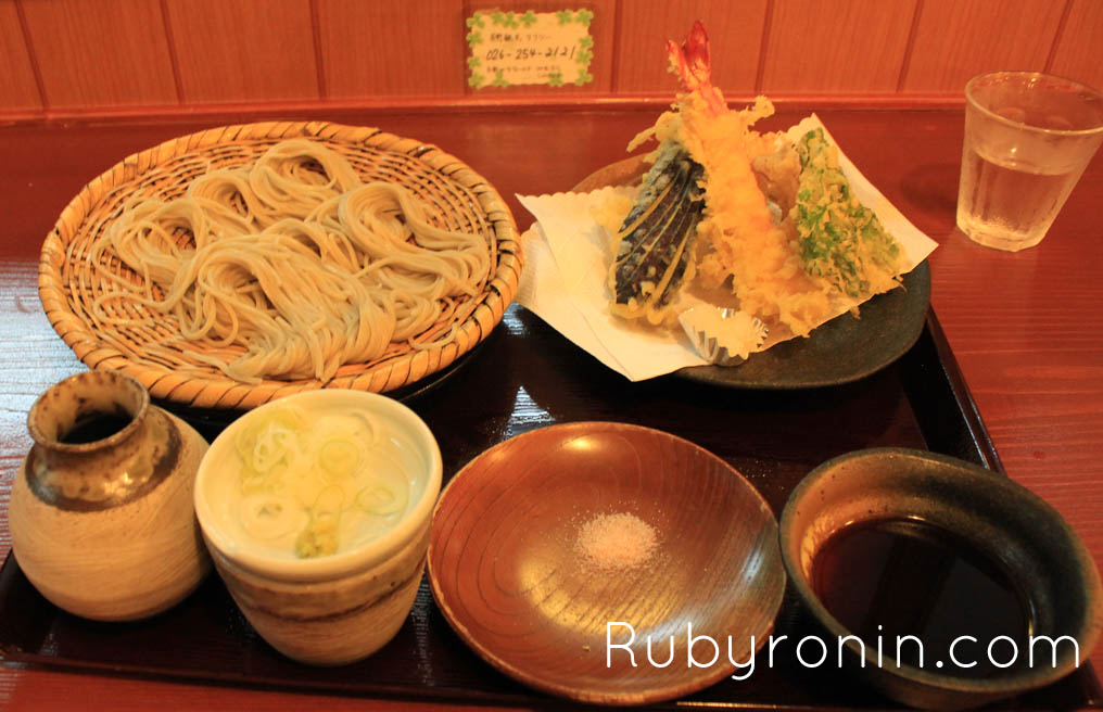 Nagano - soba