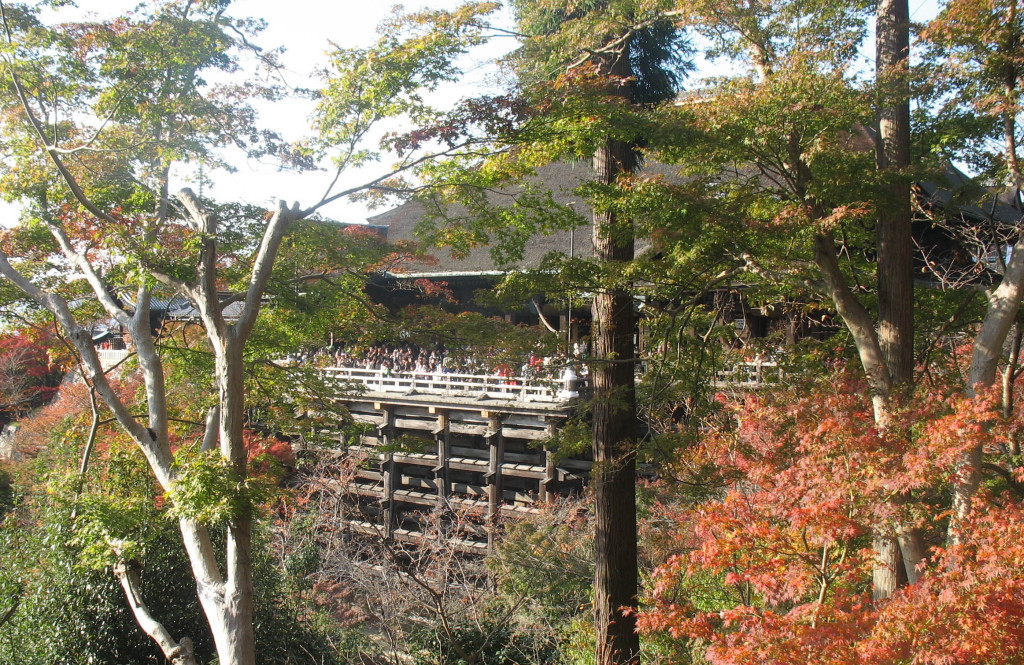 Kiyomizu Temple in Fall