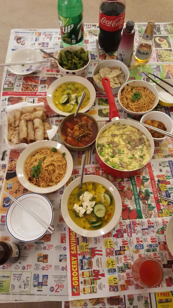 Chinese New Year 2016 Feast