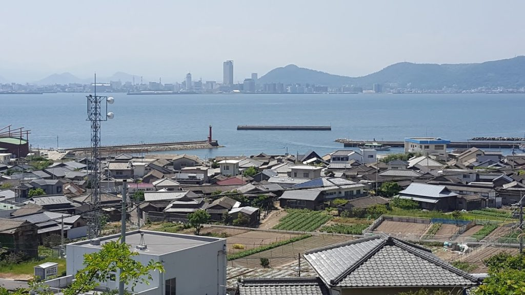 View of Takamatsu from Onishima