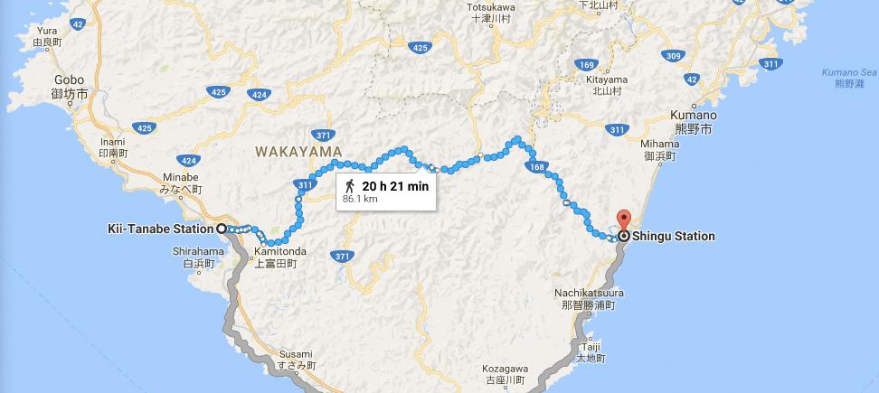 wakayama map