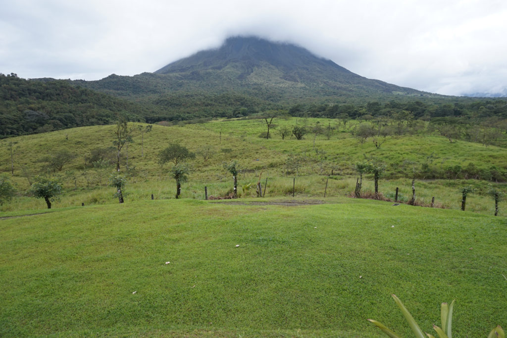 Arenal Volcano Misty
