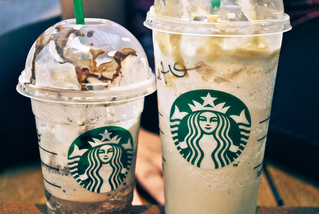 Nothing cures sadness like a frappucino...