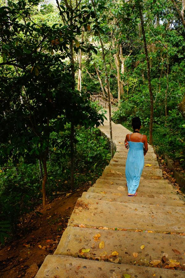 I walk alone, I walk alone.