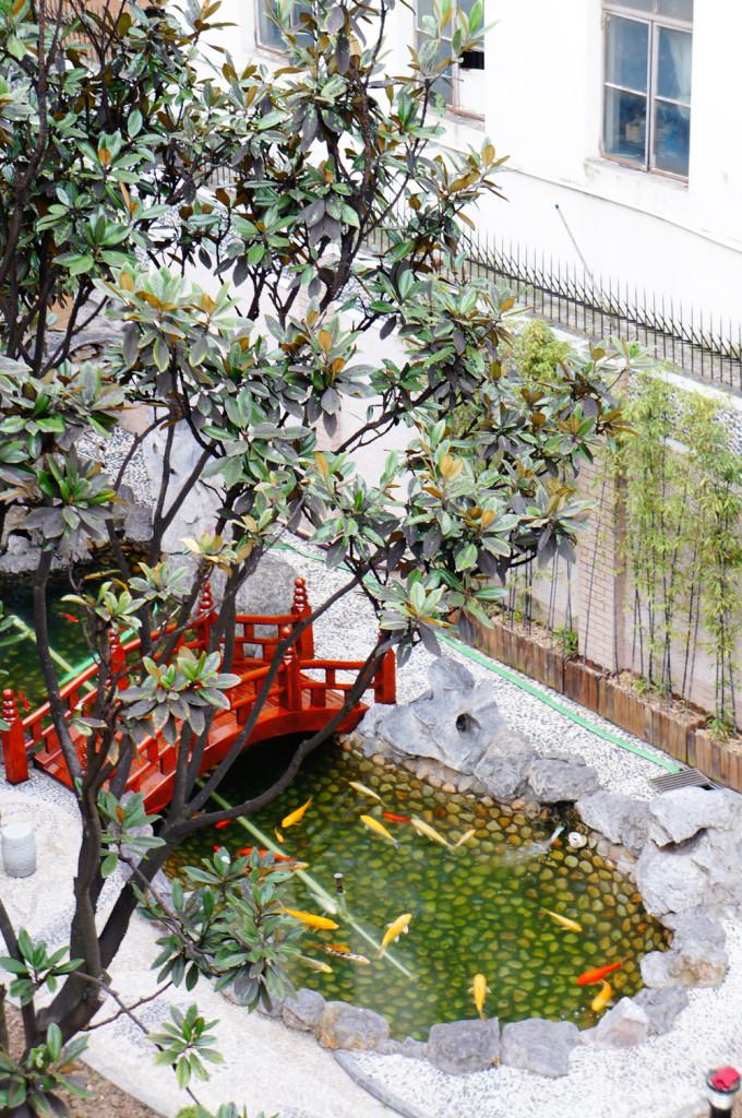 Garden on the premises