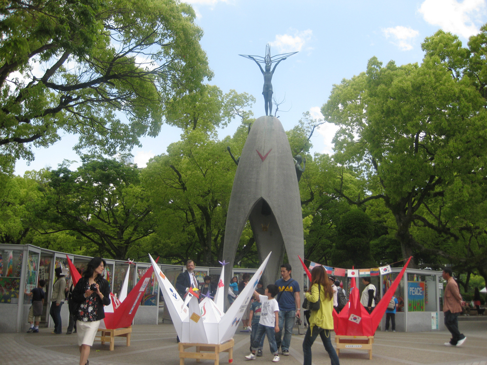 Sadoko Statue in Hiroshima