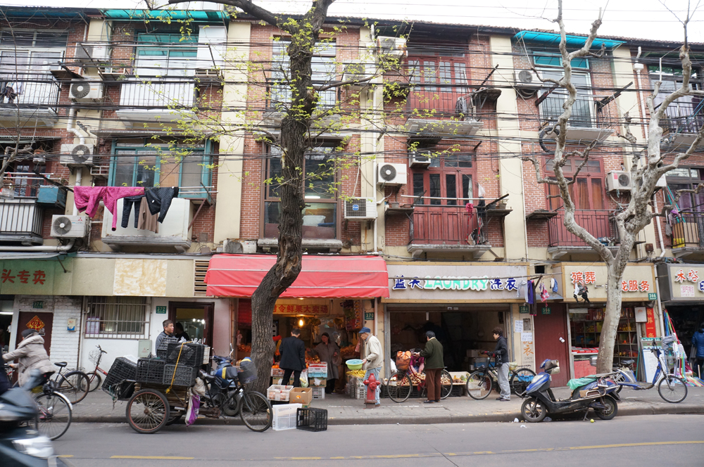 The Busy Streets Outside My Lao Fangzi