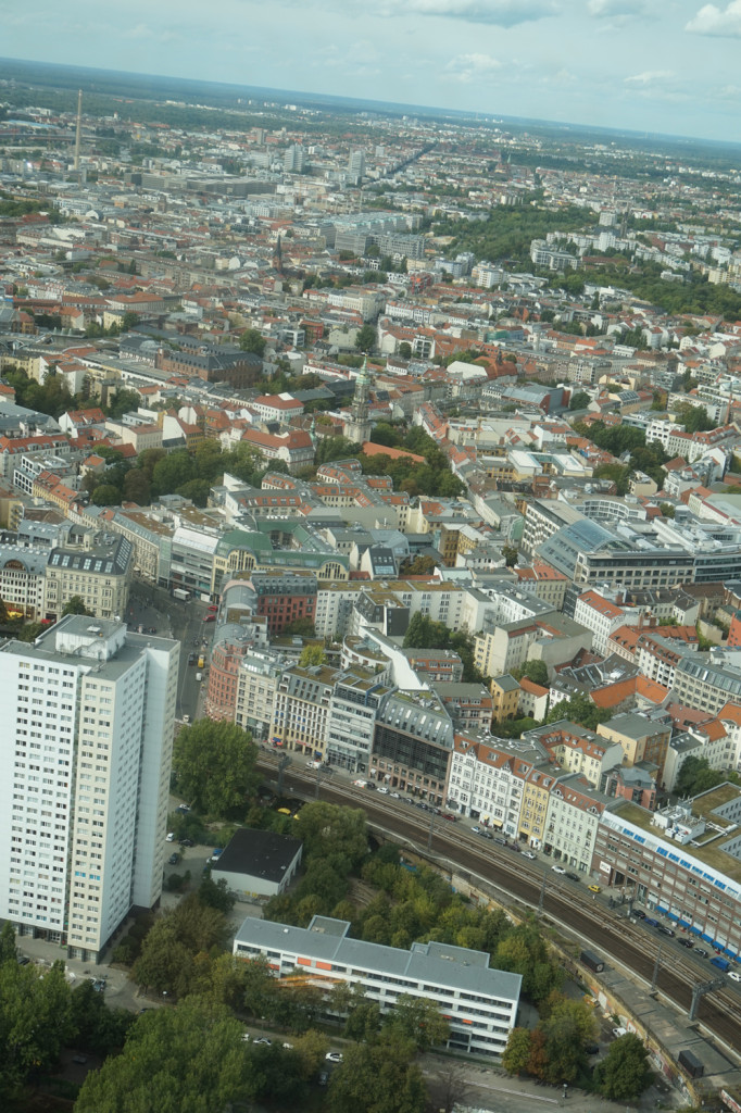 Biew from the Top of Berlin Tower