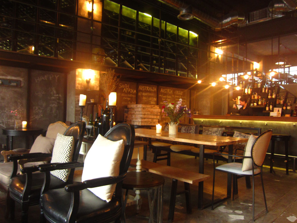Cool bars in Shanghai--for half the cost!