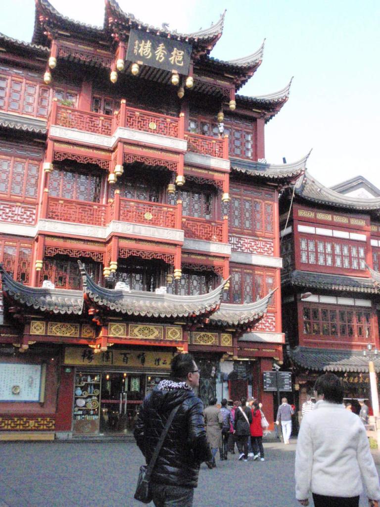 Temple in Shanghai