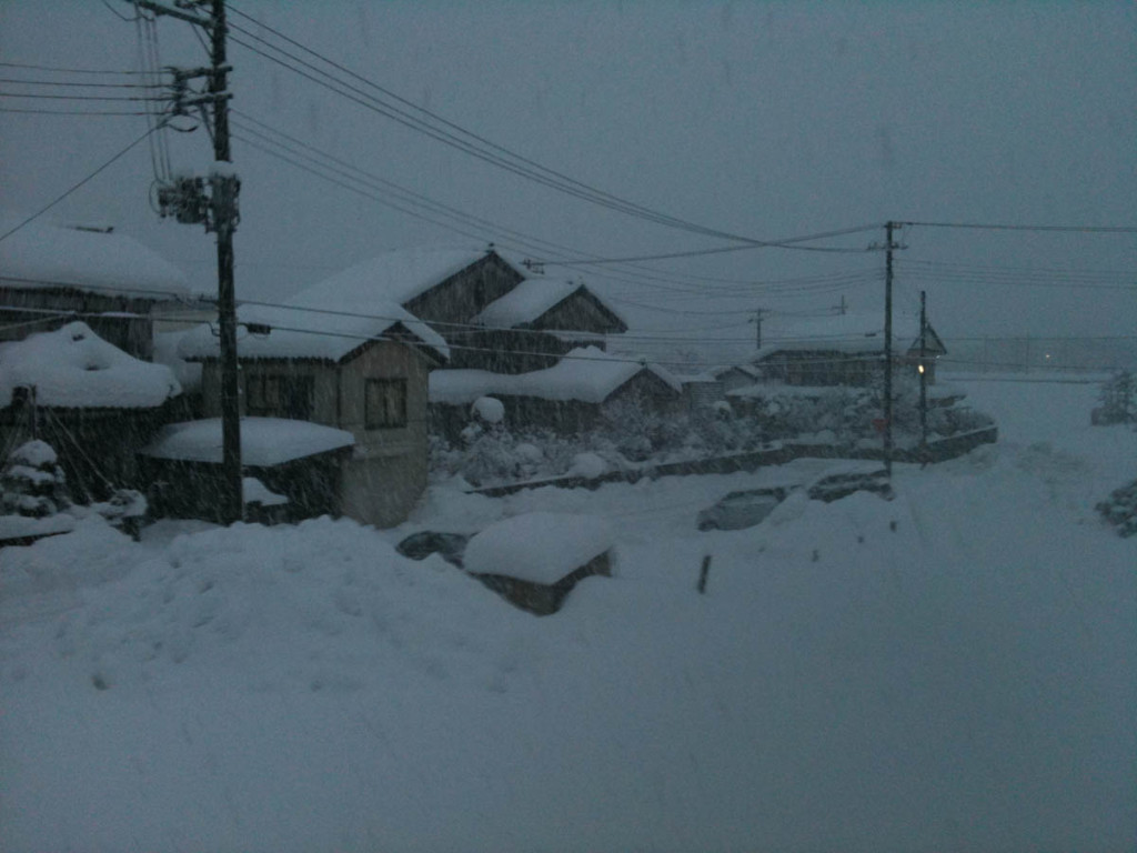 Snow in Niigata