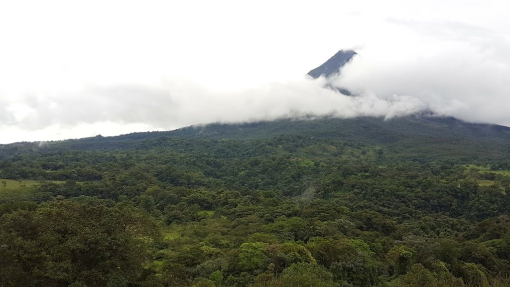 Active Volcano Arenal